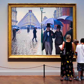 Art Institute of Chicago by Michael Lemm - People Street & Candids