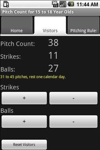棒球投球數 15起