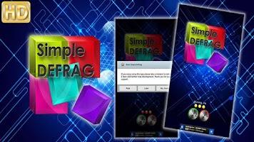 Screenshot of Simple Defrag Tablet FREE