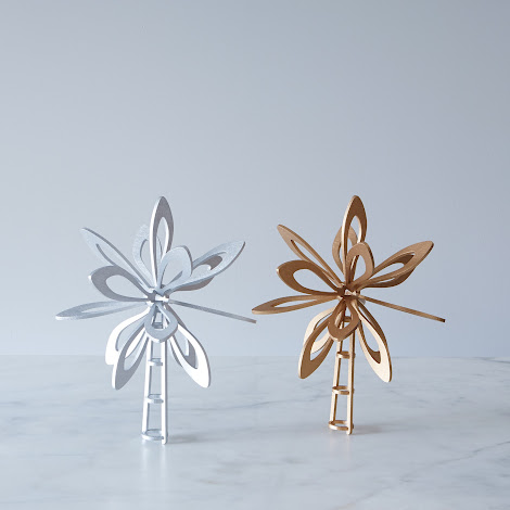Small Classic Laser-Cut Christmas Tree Topper