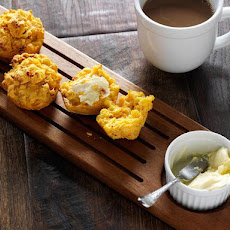 Garlic and Sun-Dried Tomato Corn Muffin