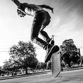 hoverboard by Rick Stufflebean - Sports & Fitness Skateboarding ( sony, chaos, sigma, a99, 24-70, tennessee, cody curtis )