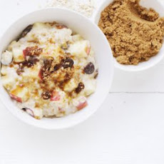 Apple & Sultana Porridge