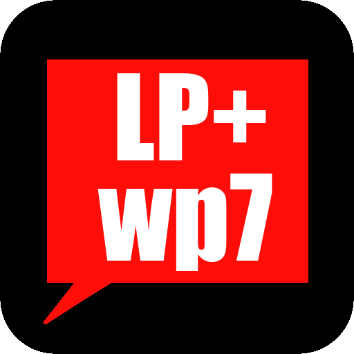 LP + Windows Phone 7的紅皮膚 個人化 App LOGO-APP試玩