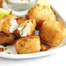 Beer-battered Pollack Bites