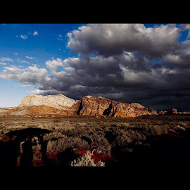 What a view! 🌿😊☁️⛅️ by Andrea Delgado - Landscapes Cloud Formations ( nature, Red, Cliffs, Nationalconservation, rei1440project, ourdailyplanet, hike, outdoors, clouds, beutahful, blue, exploreutah, february, southern, Utah, utahgram, weekend, weather, rei )