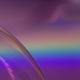 Pink Floyd Kingdom by Nico Carbajales - Abstract Macro
