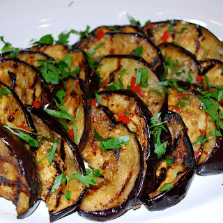 Grilled Marinated Eggplant