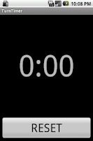 Screenshot of TurnTimer