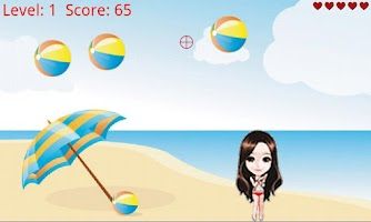 Screenshot of Shoot Beach Ball