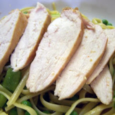 Linguine With Chicken and Caribbean Sauce