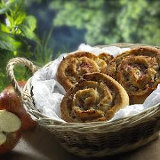 Goats' Cheese Whirls