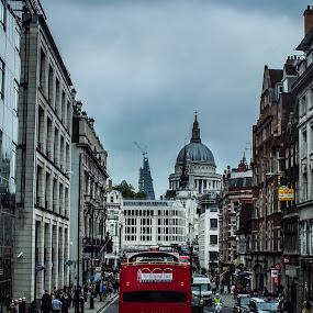 London by Nesrine el Khatib - City,  Street & Park  Street Scenes