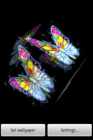 3D蝴蝶022