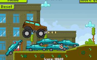 Screenshot of Army Monster Truck Race