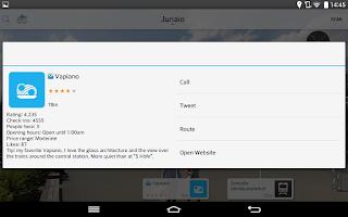 Screenshot of Junaio Augmented Reality