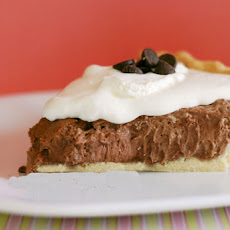 Fluffy Chocolate Silk Pie