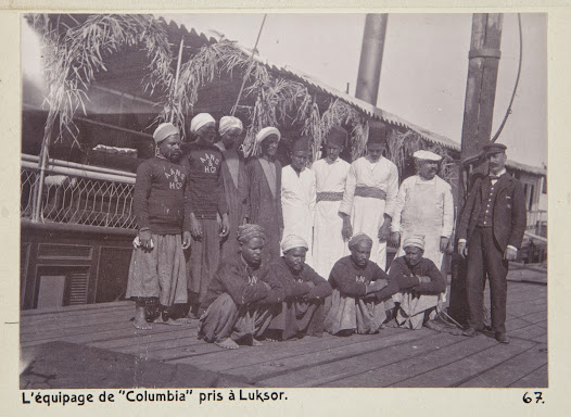 The crew of the Steamship Columbia.