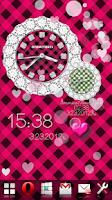 Screenshot of [Free]CUTE QLOCK OTOMETOKEI