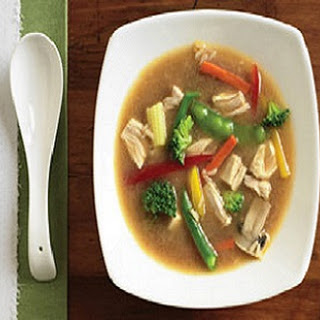 Microwave Asian Chicken Soup