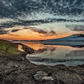 by Einar Sveinn Magnússon - Landscapes Sunsets & Sunrises