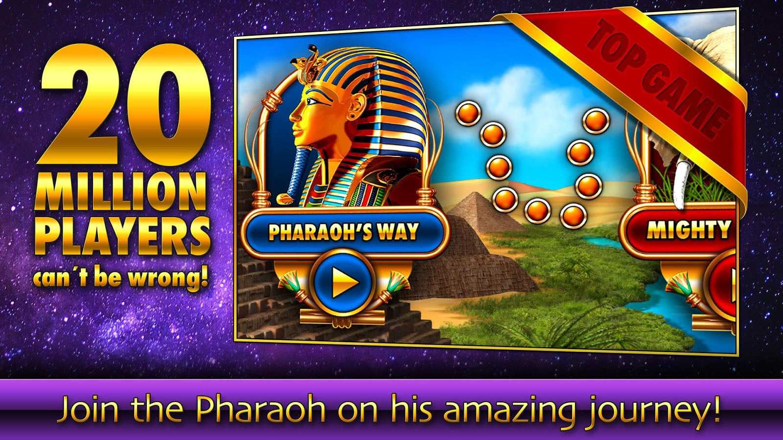 Slots - Pharaoh's Fire Screenshot 4