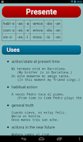Screenshot of Spanish Verbs Pro