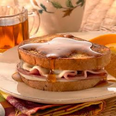 Ham and Provolone Stuffed French Toast
