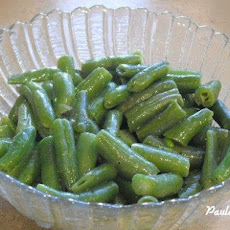 Simple Steamed Green Beans