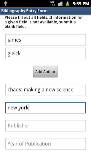 Bibliography Helper