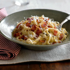 Linguine with Bacon & Onions
