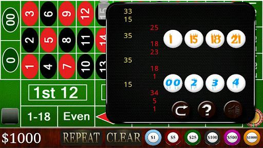 Roulette - screenshot