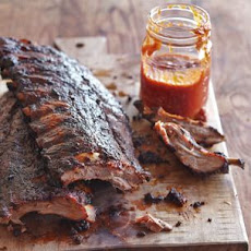 Grilled Baby Back Ribs with Citrus Barbecue Sauce