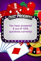 Screenshot of FreePlay Casino Quiz