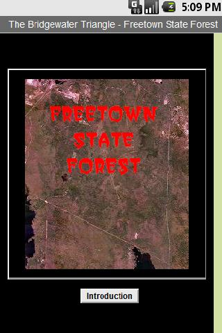 The Freetown State Forest