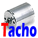 Synchronization tachometer icon