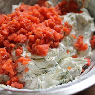 Smoked Salmon Spread with Capers and Dill