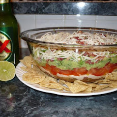Layered Southwestern Dip With a Twist