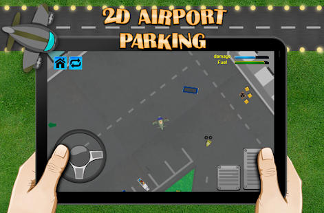 2D Airport Airplanes Parking - screenshot
