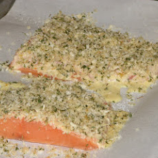 Panko-crusted Salmon