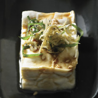 Chilled Tofu with Crunchy Baby Sardines