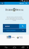 Screenshot of Diário Oficial - RJ