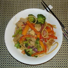 Water Chestnut and Tofu Stir Fry