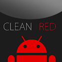 GO SMS Clean Red Theme icon