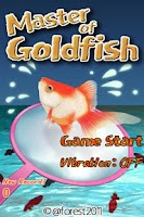 Screenshot of Gold Fish Scoop Mania