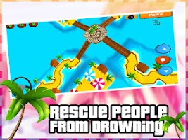 Screenshot of Beach Rescue Buggy 3D