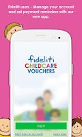 Screenshot of Fideliti Childcare Vouchers