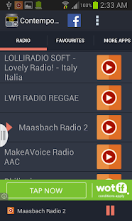 Contemporary Reggae Radio - screenshot