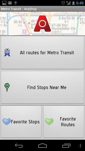 Metro Transit MSP : AnyStop