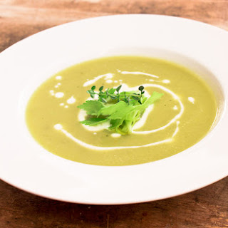 Silky Homemade Cream of Celery Soup